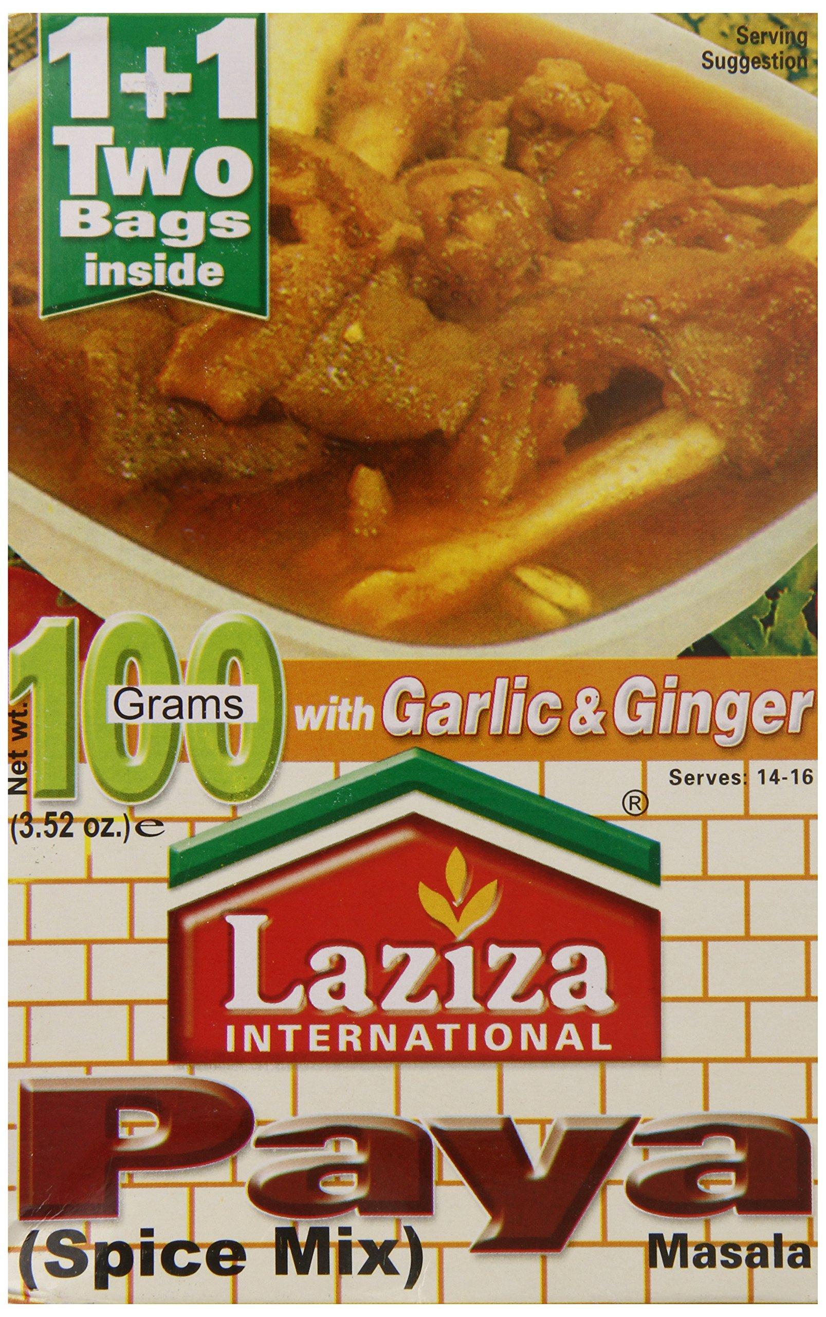 Laziza Paya Masala, 100-Gram Boxes (Pack of 6)