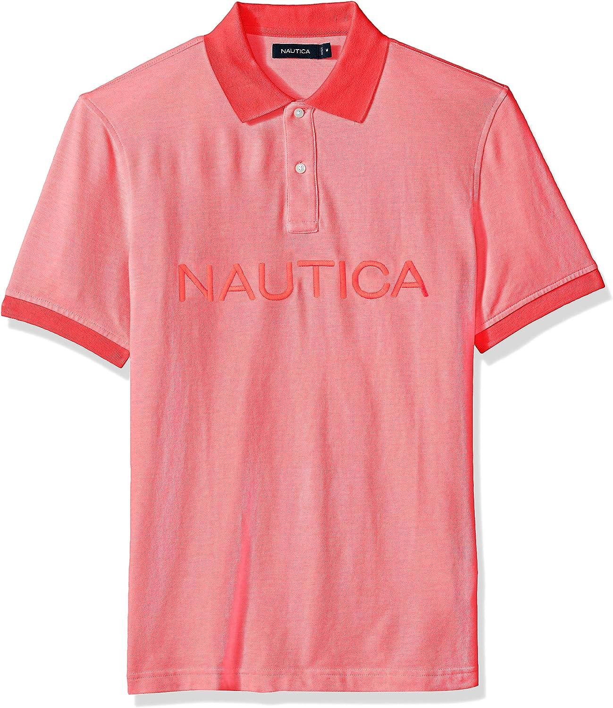 YYG-Men Classic Cotton Color Block Stripe Short Sleeve Slim Polo Shirt Tee Top