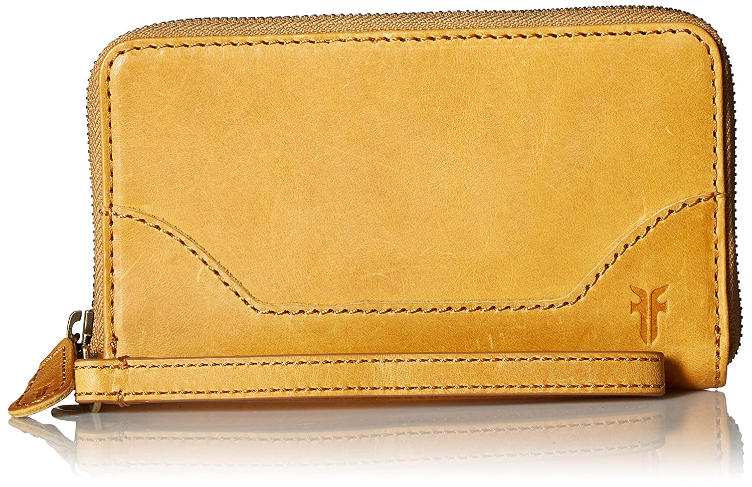 FRYE Melissa Leather Zip Phone Wallet FRYE Melissa Zip Phone Wallet Mustard 34DB392-MUS