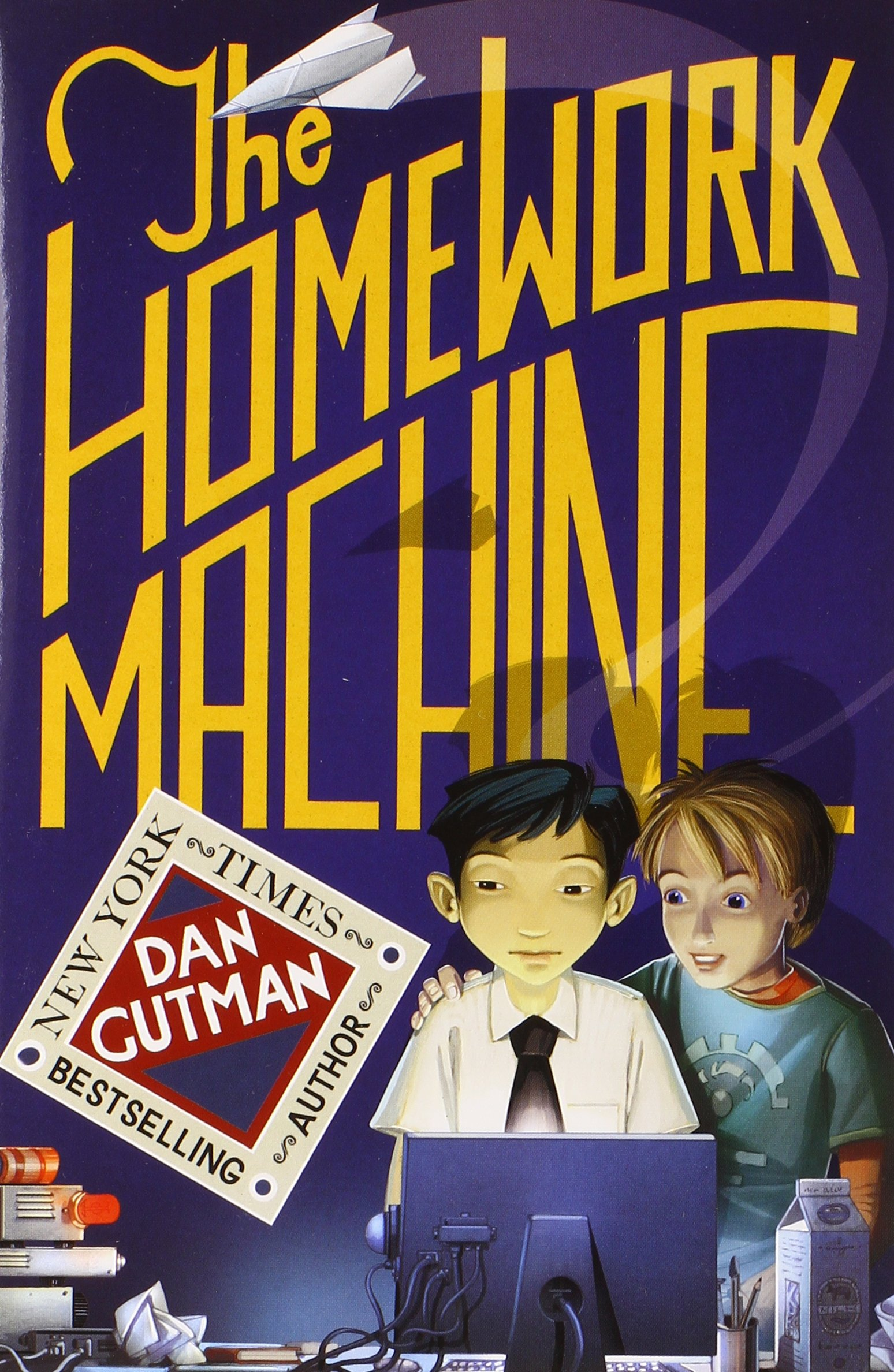 the homework machine by dan gutman summary