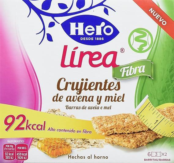 Hero Muesly Línea Crujientes de Avena y Miel - 9 Paquetes de 3 x 40 gr