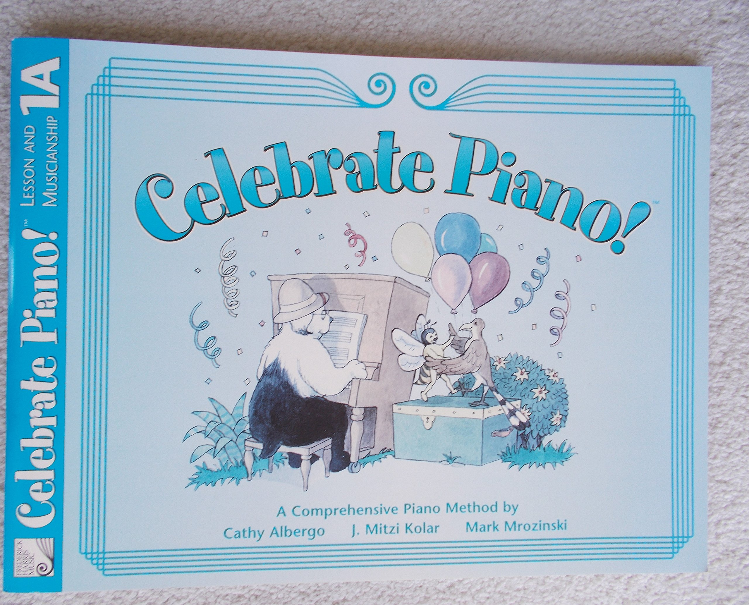 Download Celebrate Piano! Lesson and Musicianship, 1A pdf