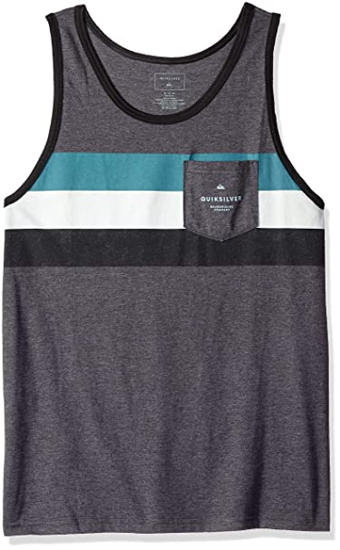 c7f7e9703813f Amazon.com  Quiksilver Men s Peaceful Progression Tank Top Tee Shirt   Clothing