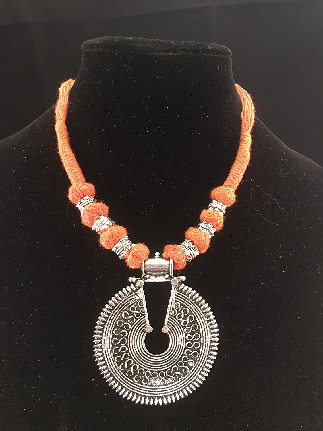 Ellora by Su Tribal Style Ethnic Necklace