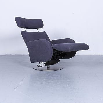 Cor Conseta Stoff Sessel Grau Relax Funktion Elektrisch Einsitzer