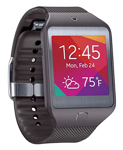 b28afa4084a Amazon.com  Samsung Gear 2 Neo Smartwatch - Gray (US Warranty) (Discontinued  by Manufacturer)  Cell Phones   Accessories