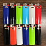 BIC Classic Lighters Cigar Cigarette MAXi Lighter Full Size (12)