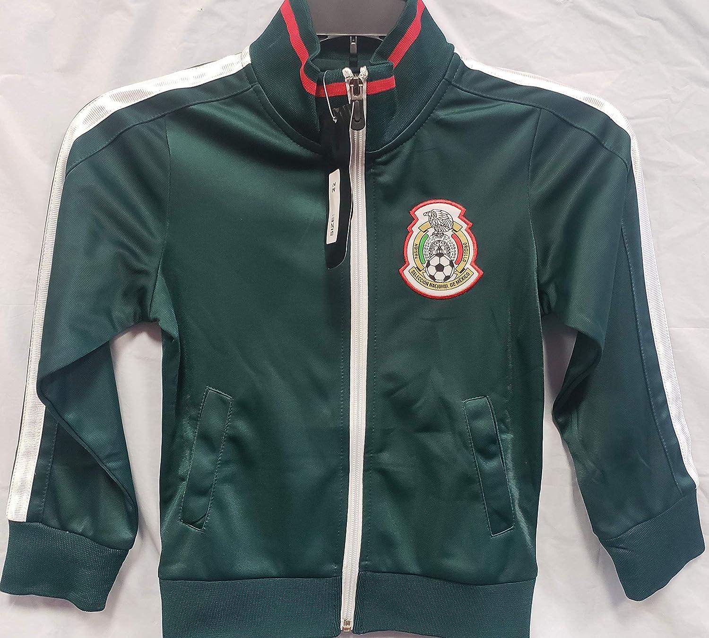 新しい。グリーンメキシコ国立チームジャケットWord Cup 2018サイズ子供用M ( 4 – 5歳)   B0787XJ6H8