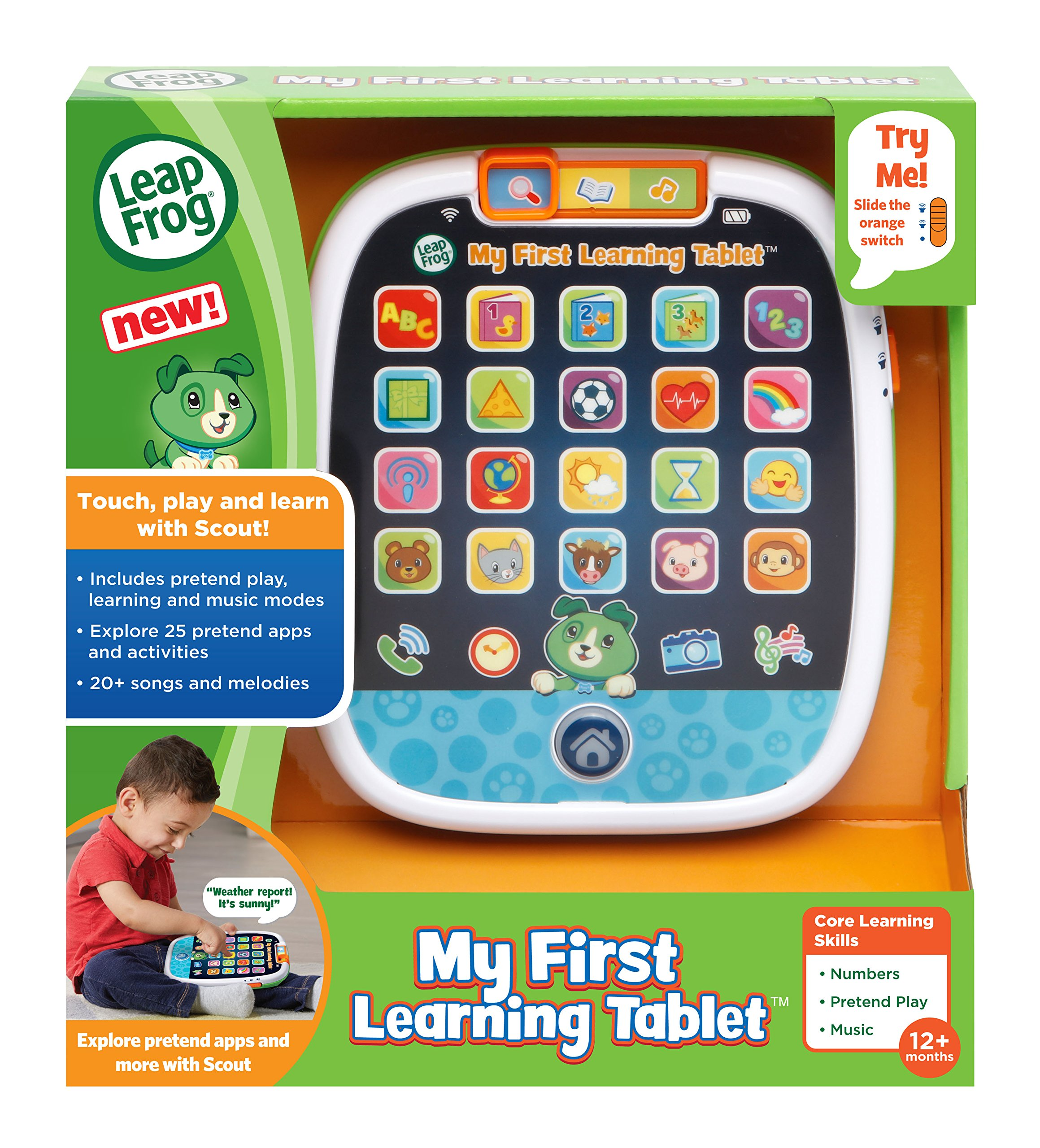 LeapFrog My First Learning Tablet, Black by LeapFrog (Image #6)