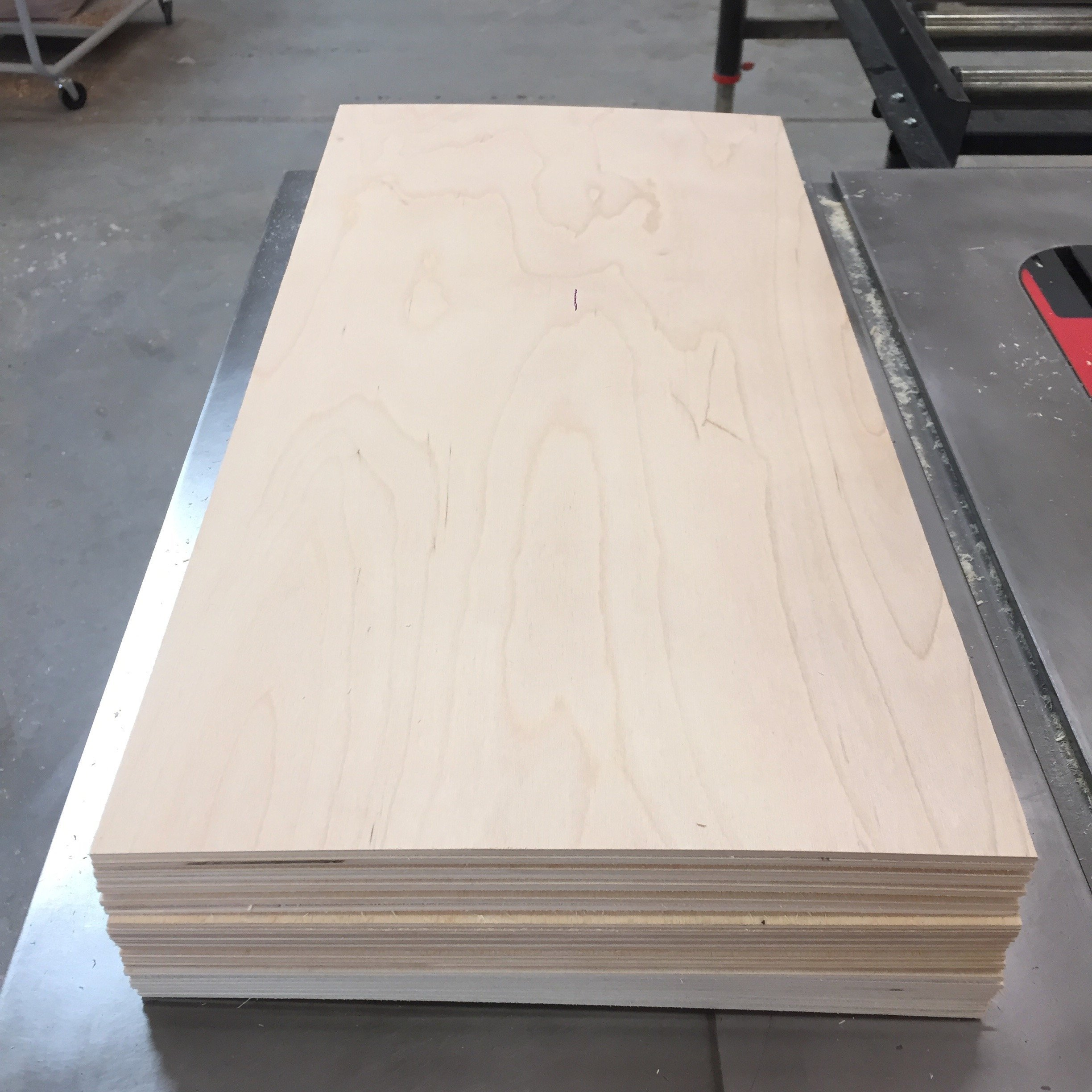 1/8'' (3mm) Baltic Birch Plywood 12'' x 24'' sheets