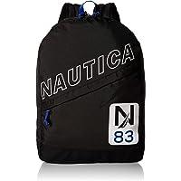 Nautica 男士对角线拉链涤纶防尘笔记本电脑背包