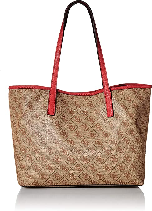 Guess Borse On Line.Amazon Com Guess Vikky Women S Tote Brown Brown Bro 32 5