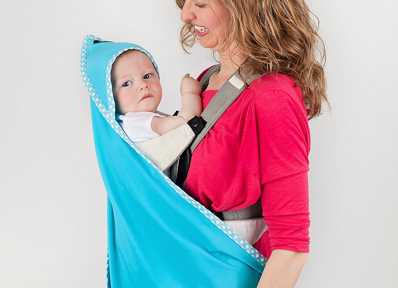 Sun Protection Hooded Towel Luvbug UVA//UVB Rating 5 UPF 50