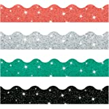 Trend Enterprises Sparkle Solids Terrific Trimmer & Bolder Border Variety Pack (T-92929)