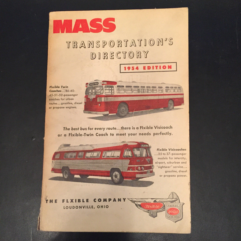 Mass Transportation's Directory: Mass Transportation Magazine