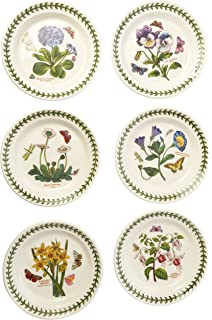 Amazon.com | Portmeirion Botanic Garden Dinner Plates, Set of 6 ...