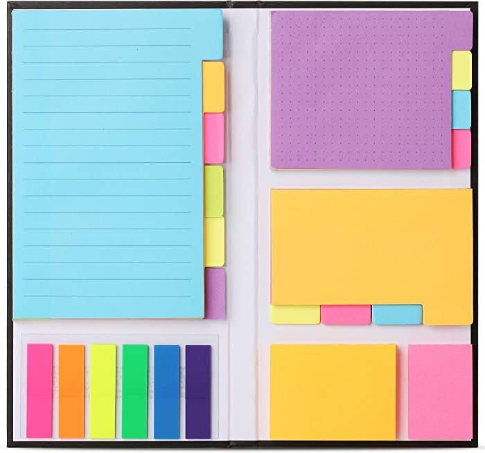 Mr. Pen- Sticky Notes Set, Sticky Notes Tabs, 410 Pack, Divider Sticky Notes, School Supplies, Office Supplies, Planner Sticky Notes, Sticky Note Dividers Tabs, Book Notes, Bible Sticky Notes