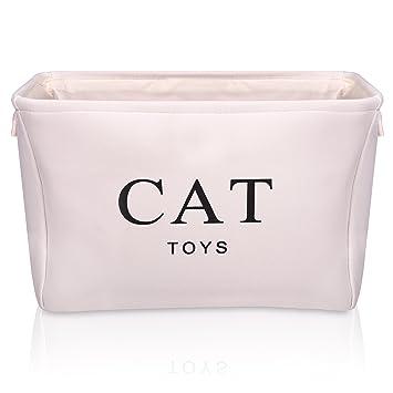 For the Love of Pet Leisure Cesta de juguete para gatos para el amor de la ...