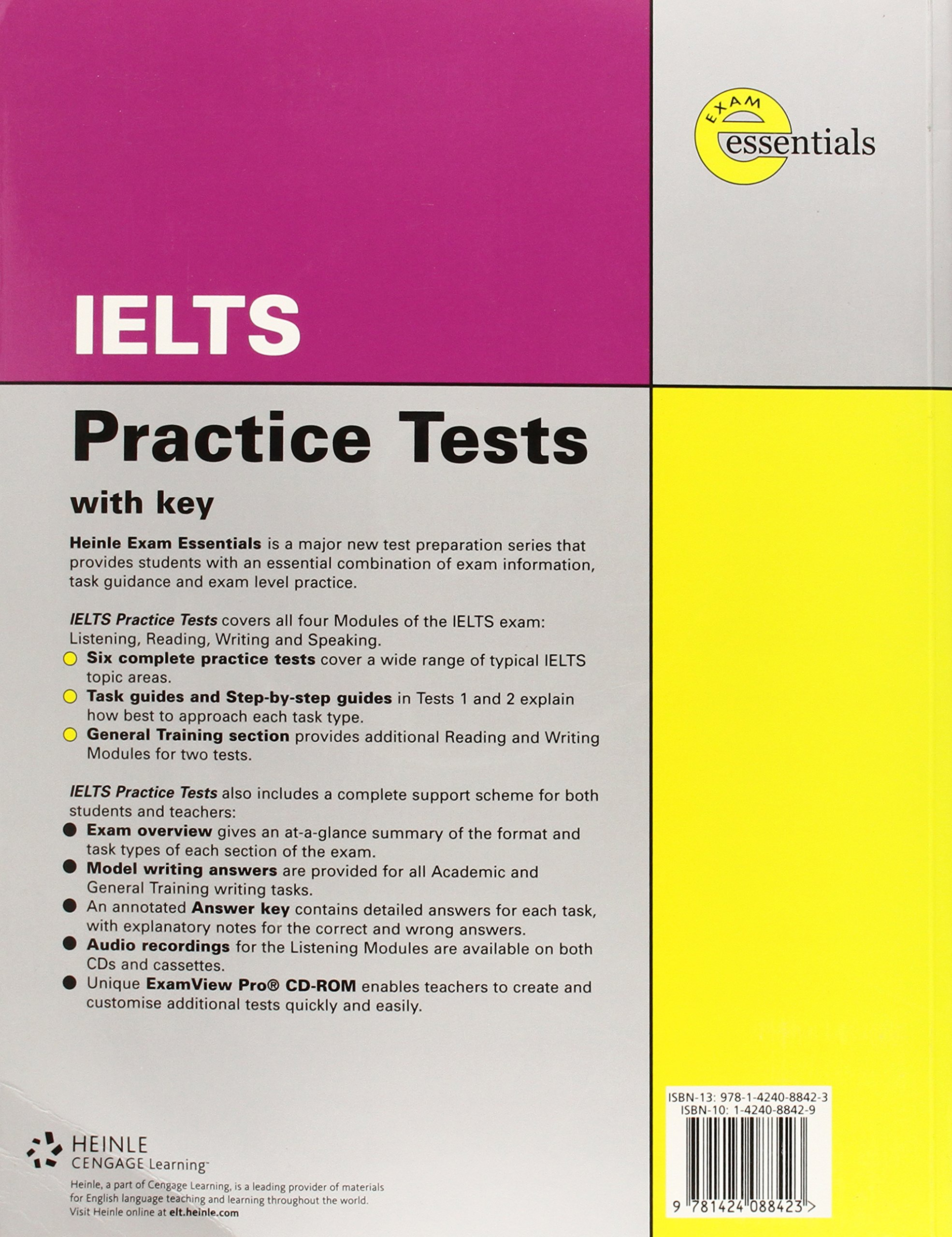 Buy Exam Essentials - IELTS Practice Tests with key