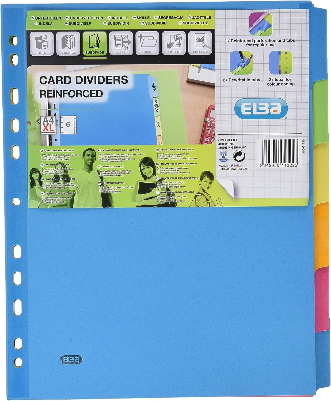 Elba 238655/separadores reforzadas a 6/teclas
