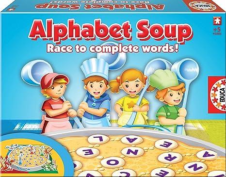 Amazon.com: Alphabet Soup Game: Toys & Games
