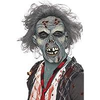 RH Smith & Sons LTD Smiffy's Men's Decaying Zombie Mask, Grey, One Size, 36852