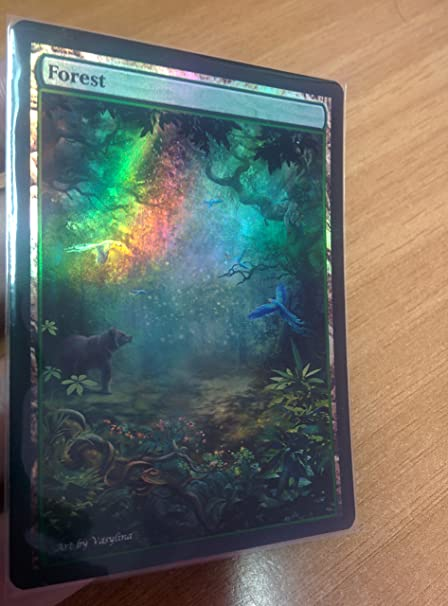 Custom Basic Land non-foil MTG card altered art 1x Full Art swamp