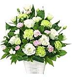 お供え・お悔みの献花 花キューピットのお供え用のアレンジメント (白+ピンク)仏花 供花 法要 枕花