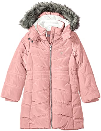 8392e5c17 Calvin Klein Girls' Aerial Jacket: Amazon.in: Clothing & Accessories