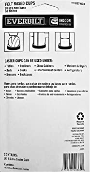 Furniture Cup with Felt Base (4-Pack) - - Amazon.com