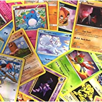 Pokémon : Lot de 50 Cartes communes francaises sans doubles + 3 Cartes Brillantes Cadeau !