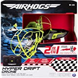 Spin Master Air Hogs Hyper Drift Drone (2 in 1) Green Hybrid Quadcopter - Juguetes de Control Remoto (AAA, 340 g, 304,8 mm, 108 mm, 304,8 mm, 845 g)