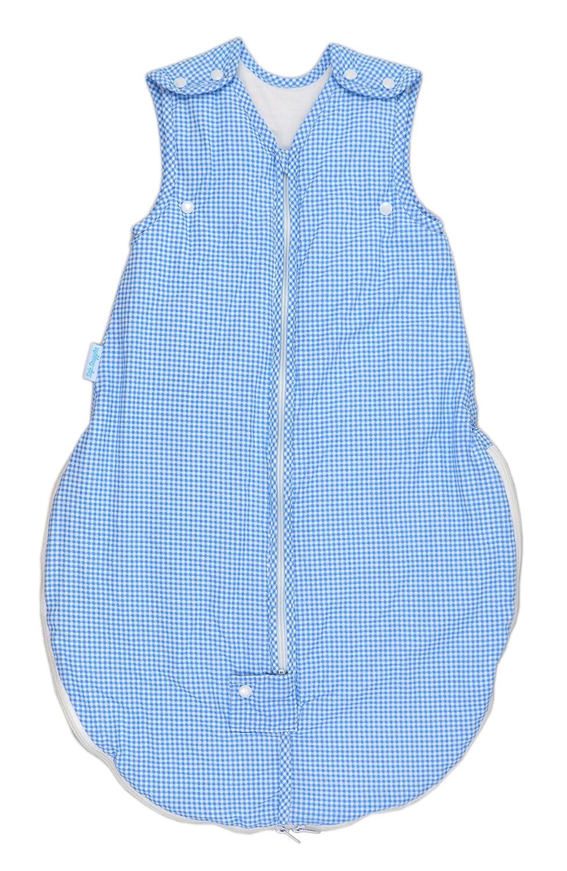 Safe Snuggler Sleeping Sack Cotton Summer Wearable Blanket Small Warm Gray