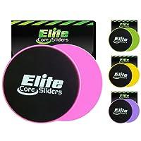 Elite sportz equipment 2 disques de Glisse Double Face - pour Tapis et sols durs