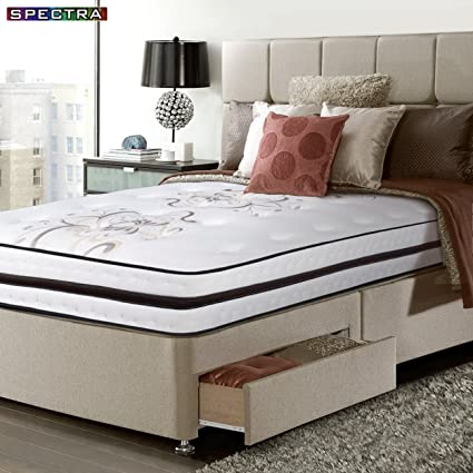 factory authentic 02d8d d073e Orthopedic Mattress - 12.5 Inch Medium Plush Memory Foam - Gel Quilted Top,  Pocketed Coil - King Size