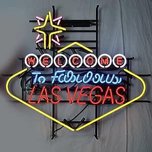 Neonetics 5VEGAS Welcome to Fabulous Las Vegas Neon Sign