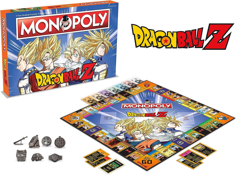 Winning Moves 2565 DRAGON BALL Z Monopoly Juego de mesa [Ingles]: Amazon.es: Juguetes y juegos