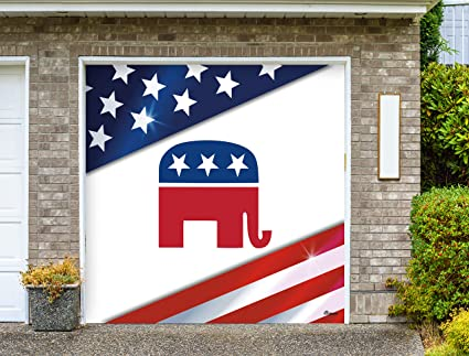 Victory Corps Republican Holiday Garage Door Banner Mural Sign Décor 7 X 8 Car Garage The Original Holiday Garage Door Banner Decor Garden Outdoor