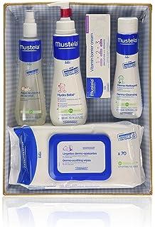 Mustela Bébé - Canastilla azul (Agua de colonia + Hydra Bébé + Vitamin barrier cream