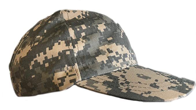 Camouflage Chef Baseball Hat Camo in Soft Twill Original ACU Woodland  Cookie Desert Tiger Stripes and a7d039ecd0c