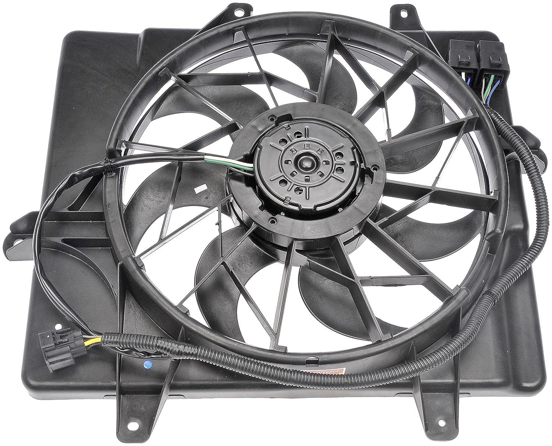 91V4ubbAOqL._SL1500_ amazon com dorman 620 052 radiator fan assembly automotive  at n-0.co