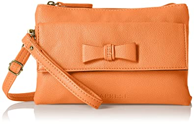 Caprese Women's Lina Sling Bag (Orange): Amazon.in: Shoes & Handbags