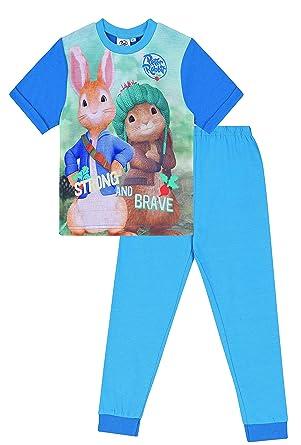 37acc2431 Boys Peter Rabbit Strong and Bold Pyjamas Beatrix Potter Sleepwear ...