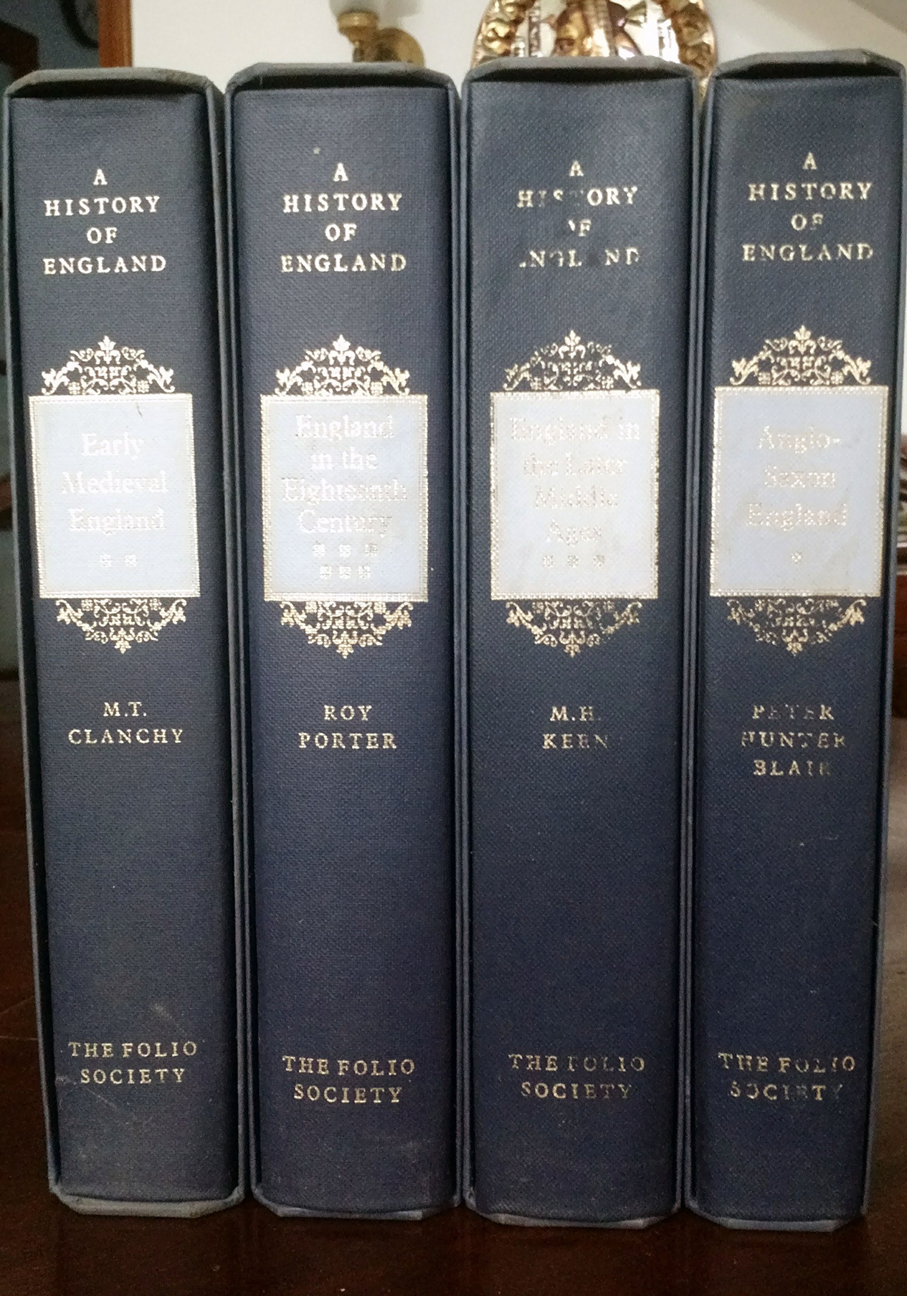 A History of England (Complete Set of the 12-volume Folio Society Series) (Volumes I - XII) PDF