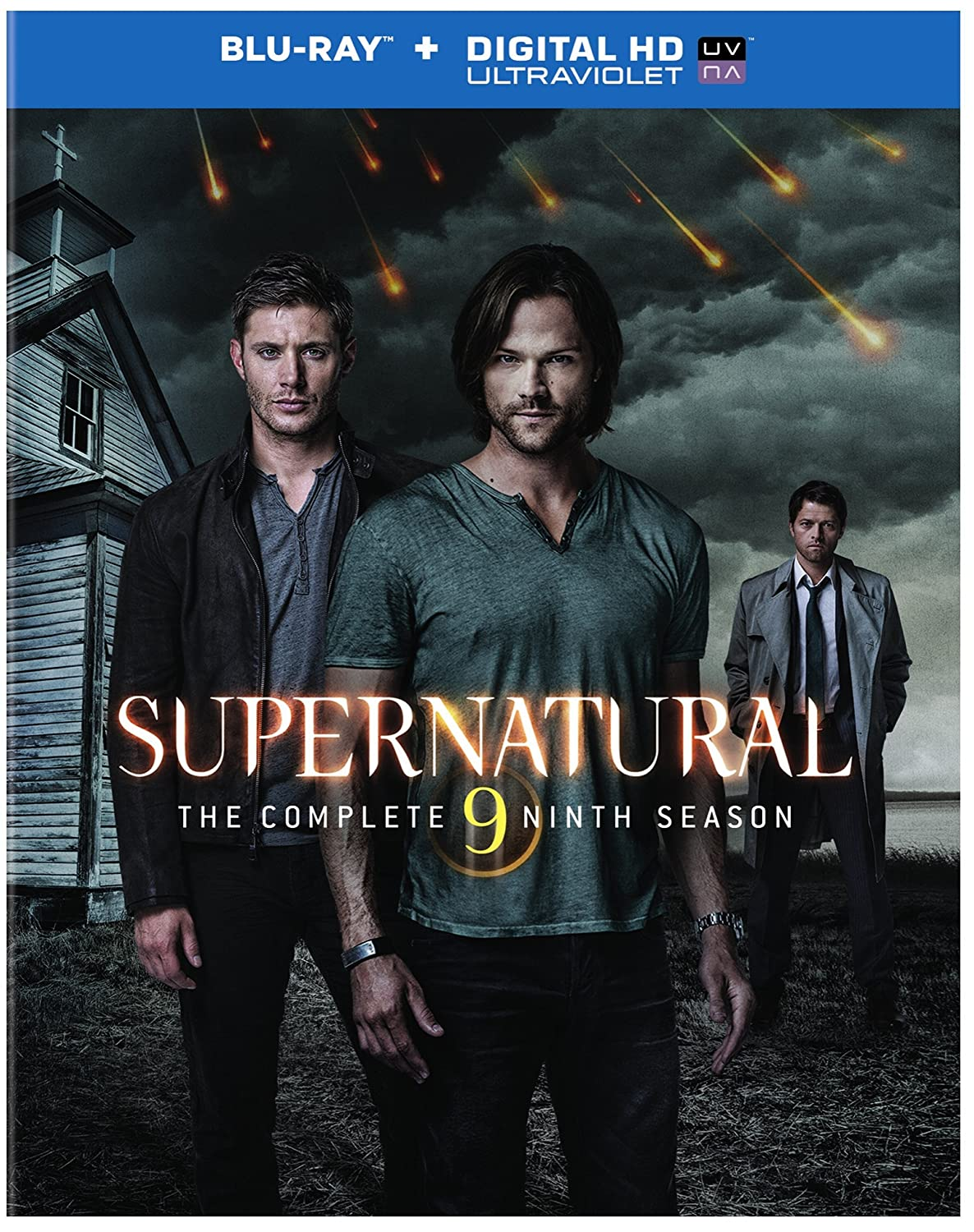 Amazon supernatural the complete ninth season blu ray amazon supernatural the complete ninth season blu ray import dvd voltagebd Image collections