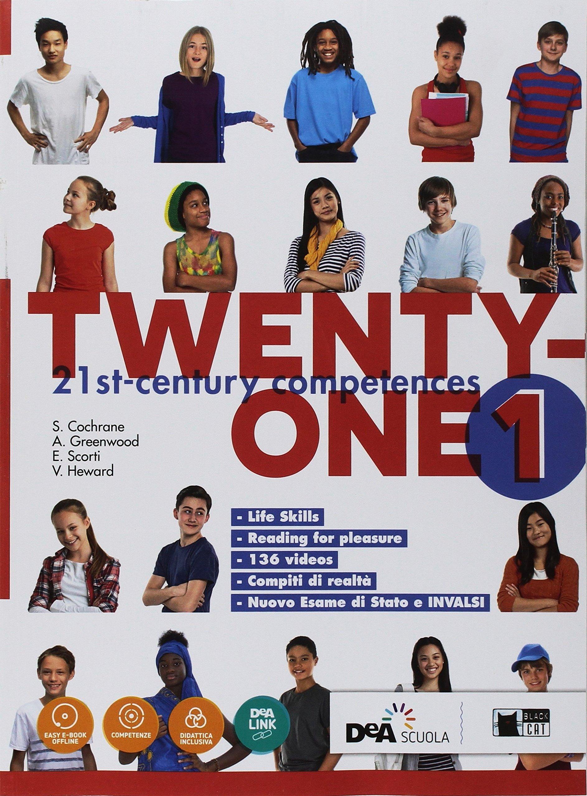 Twenty-One 1 + Map it!, testi di inglese per le scuole medie