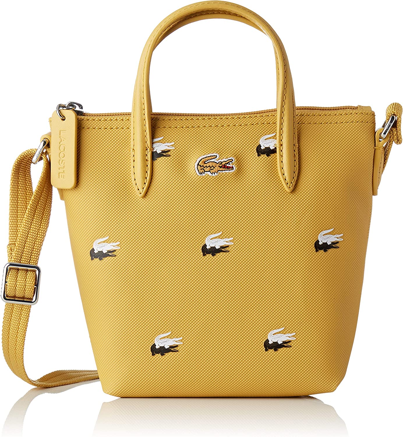 Lacoste - Nf2621cx, Bolsos totes Mujer, Amarillo (Mineral Yellow ...
