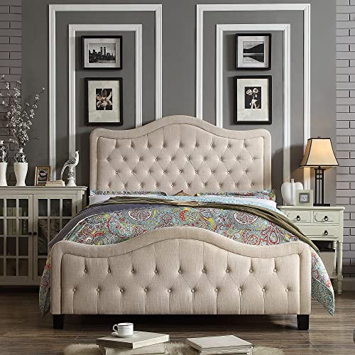 Rosevera Platform Bed Turin Upholstered Panel