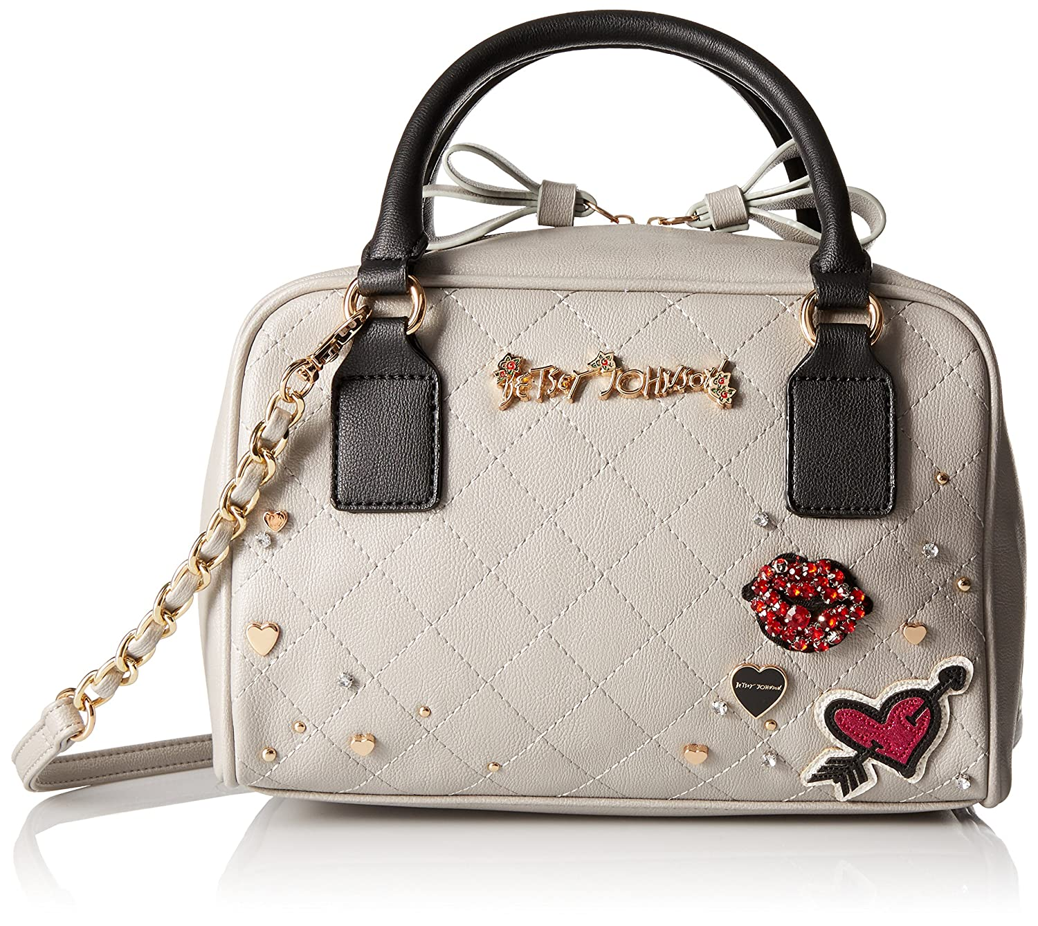 Betsey Johnson Peek-A-Boo Top Handle Handbag