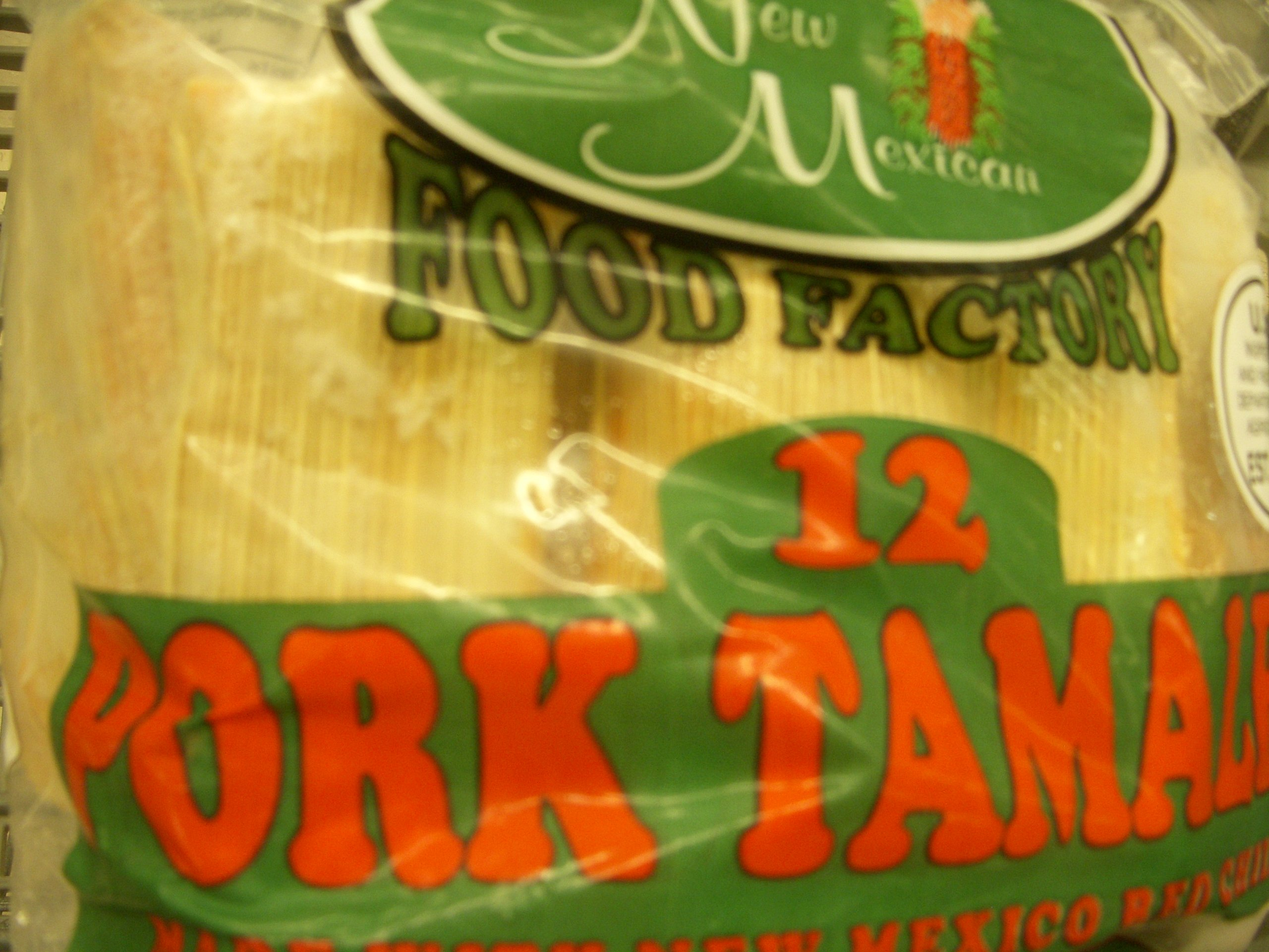 2 Dozen New Mexican Red Chile Pork Tamales